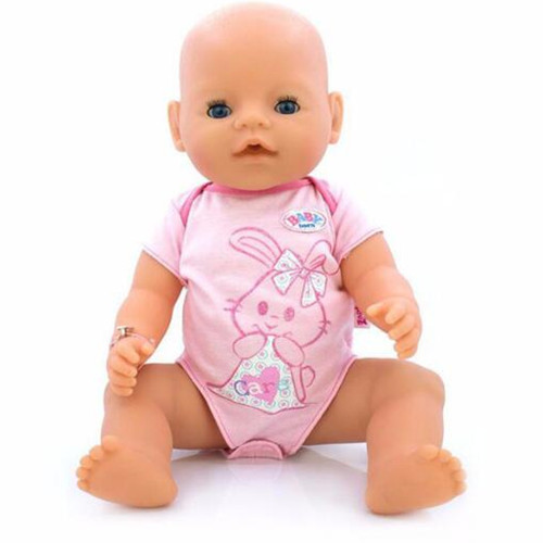 все цены на Fashional New Set Clothes Wear for 43cm Baby Born zapf, Children best Birthday Gift(only sell clothes) онлайн