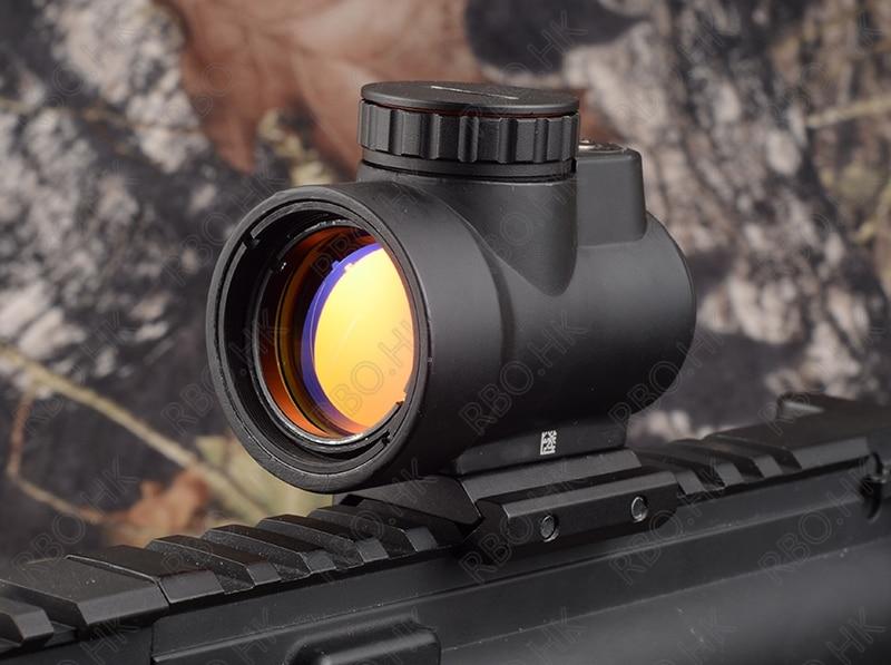 ФОТО Tactical Trijicon MRO style 1x Red dot sight scope Shotgun Scope Hunting Riflescope picatinny mount Black M3855