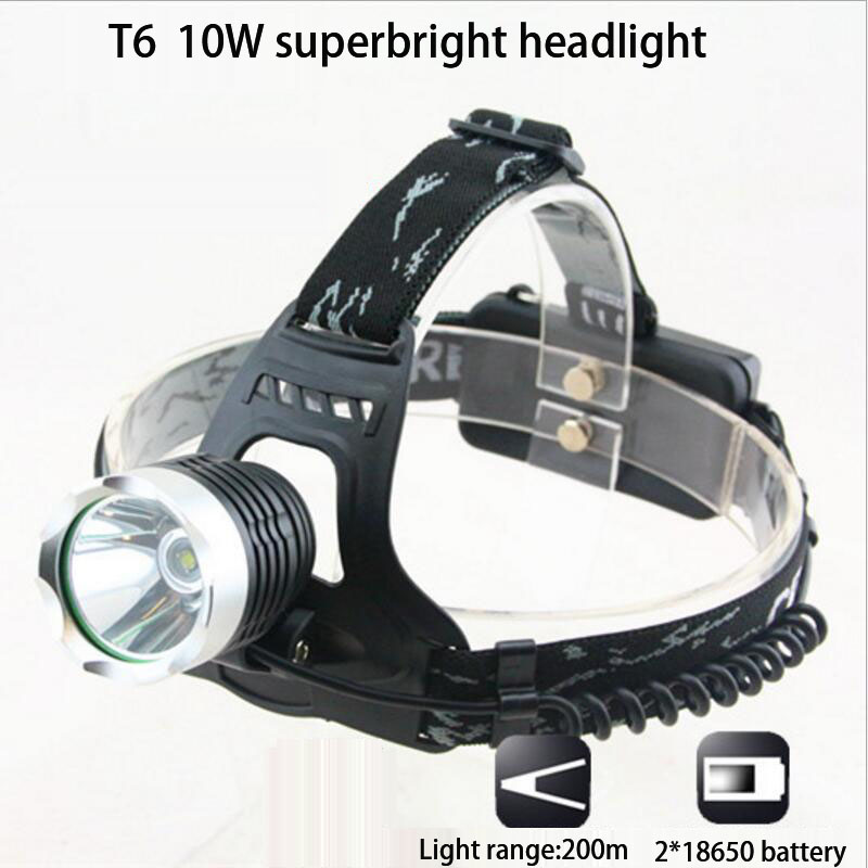 MINERS LAMP LED NIGHT LIGHT LED HEADLIGHT 2*18650 BATTERY 10W TO NIGHT WALKING EMERGENCY USING ,FREESHIPPING