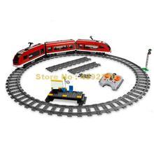 763pcs urban rc remote control motor control passenger train 2  building blocks Bricks Toy