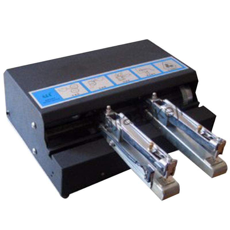 Автоматический двойной степлер канцелярские товары для школы и офиса переплет машина бумажный степлер двойной электрический степлер 220v25w