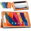 Aleta da tampa do caso para Cube T8/T8/T8 Além de 8 polegada tablet tampa magnética stand case proteção shell + protetor de tela + OTG