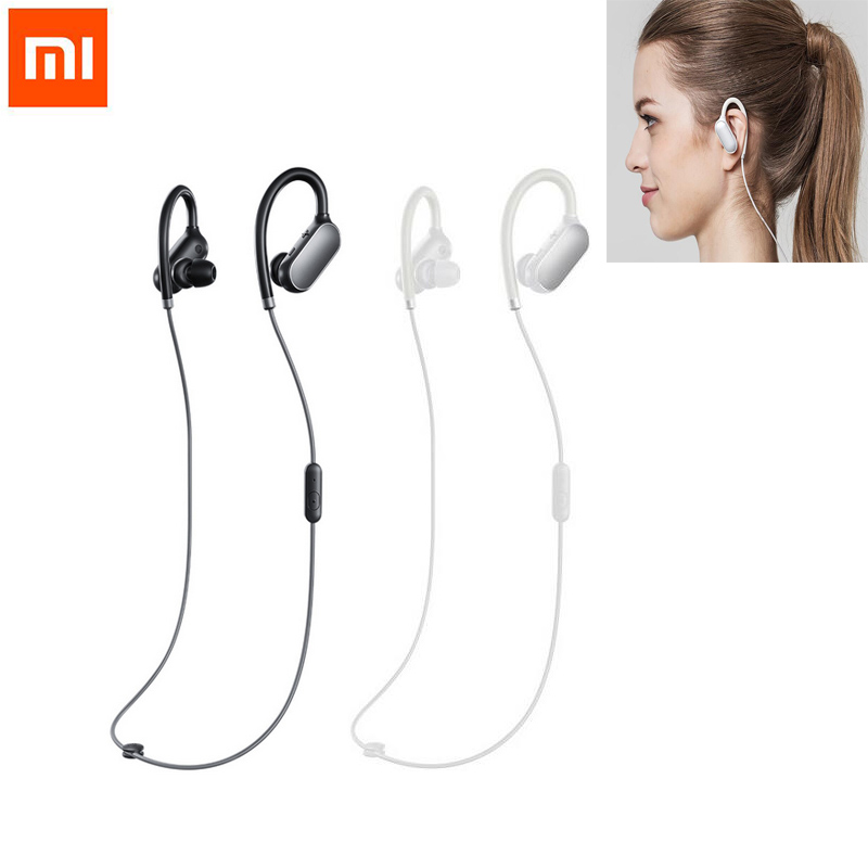 Sport Bluetooth Fashion Earphone Stereo Waterproof Wireless Bluetooth Headphone headset 100% Original for Xiaomi White/Black new bluetooth wireless headset stereo waterproof headphone earphone sport universal handfree for iphone for samsung