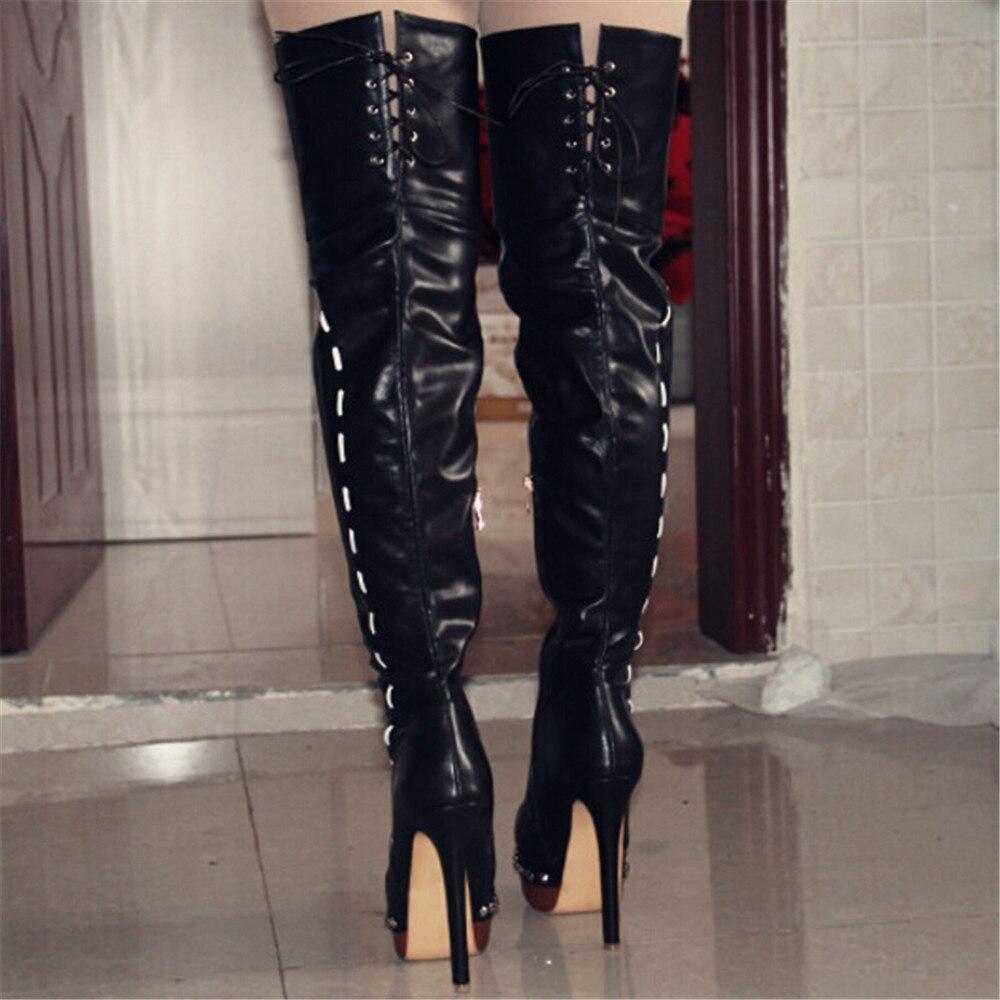 En Cm À Bottes Noir BottesFemmes Livraison ChaussuresÉlégant Cuir Et TailleTaille34 Gratuite14 Talons 45 Hauts Shofoo Verni 5 nP8kZN0wXO