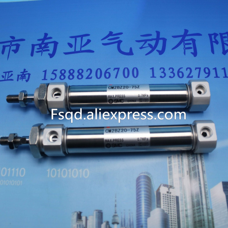 CM2BZ20-75Z SMC Stainless steel mini cylinder pneumatic air tools air cylinder Stainless steel cylinders cxsm10 10 cxsm10 20 cxsm10 25 smc dual rod cylinder basic type pneumatic component air tools cxsm series lots of stock