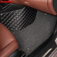 ZHAOYANHUA автомобильные коврики для Nissan Sentra Sylphy B16 B17 Altima Qashgai Мурано 5D автомобиль Стайлинг ковер rugs вкладыши (2007 теперь)