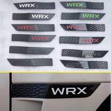 2 шт./компл. для Subaru WRX STI, новый 3D автомобильный значок, украшение, брызговик, искусственное украшение автомобиля