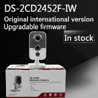 In Stock Free Shipping With DHL English Version DS 2CD2452F IW 5MP IR Cube Network Camera