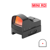 Mini Red Dot Sight Tactical Rifle Scope Compact Holographic Reflex Micro Optics Riflescope For Hunting Air Gun