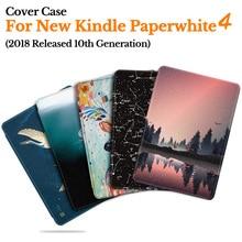 BOZHUORUI умный чехол для Amazon новый Kindle Paperwhite 4 eReader (10 поколения 2018 выпущен) Магнитный Ультратонкий чехол