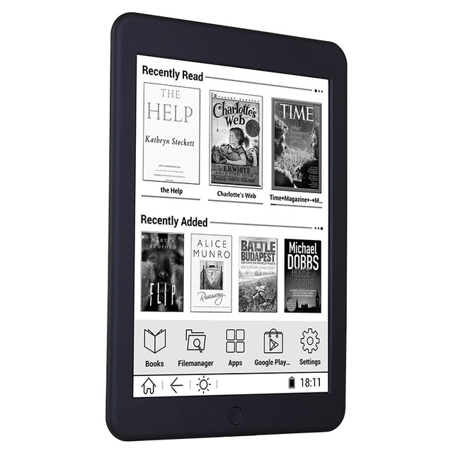 BOYUE Likebook Plus ebook reader 7.8 inch Carta Screen 300PPI 1404*1872 16G Touch ANDROID Bluetooth Backlight ebook ereader eink