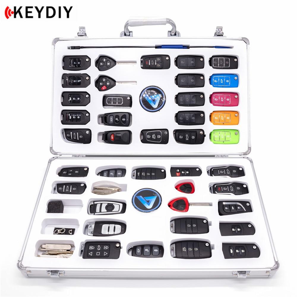 KEYDIY KD Luxury Display Case KD900 Bag with 40pcs KD Remotes and 1pcs KD MINI Cable