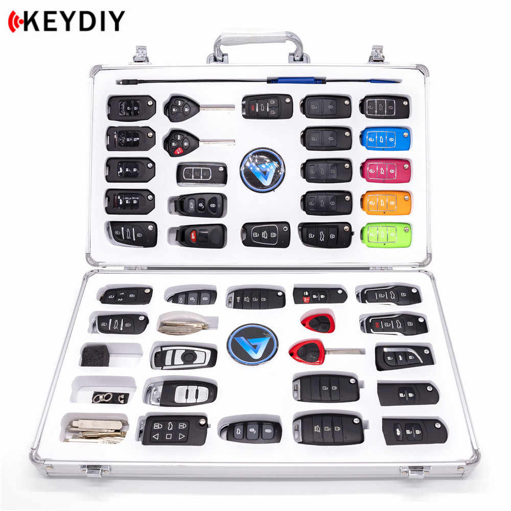 KEYDIY KD Luxury Display Case KD900 Bag with 40pcs KD Remotes and 1pcs KD MINI Cable for KD-X2