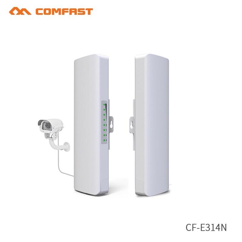 2 pc 300 Mbps sans fil wifi routeur répéteur CPE extérieur longue portée 1-3 KM extérieur AP routeur CPE pont routeur WDS Wi fi Extende