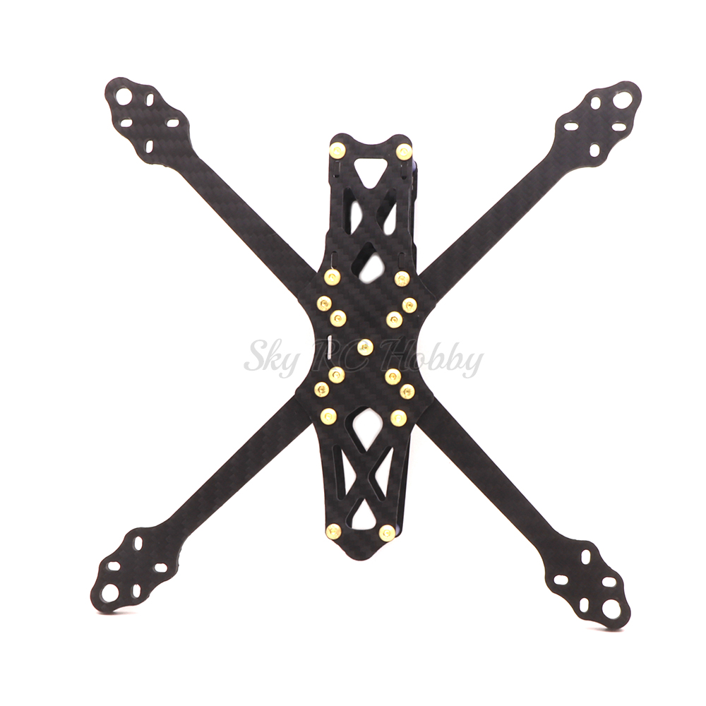ohnny 2 5inch X5 227mm wheelbase 227 with 5mm Arm Carbon Fiber X type FPV Quadcopter frame (10)