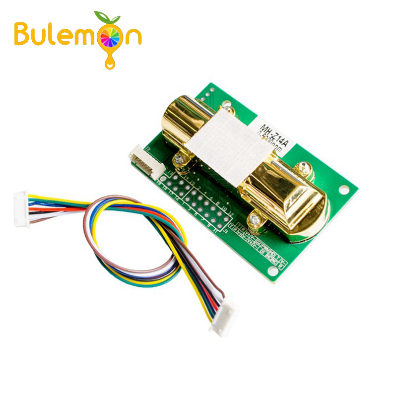 NDIR CO2 SENSOR MH Z14A Infrared Carbon Dioxide Sensor Module,serial port, PWM, analog output with cable MH Z14