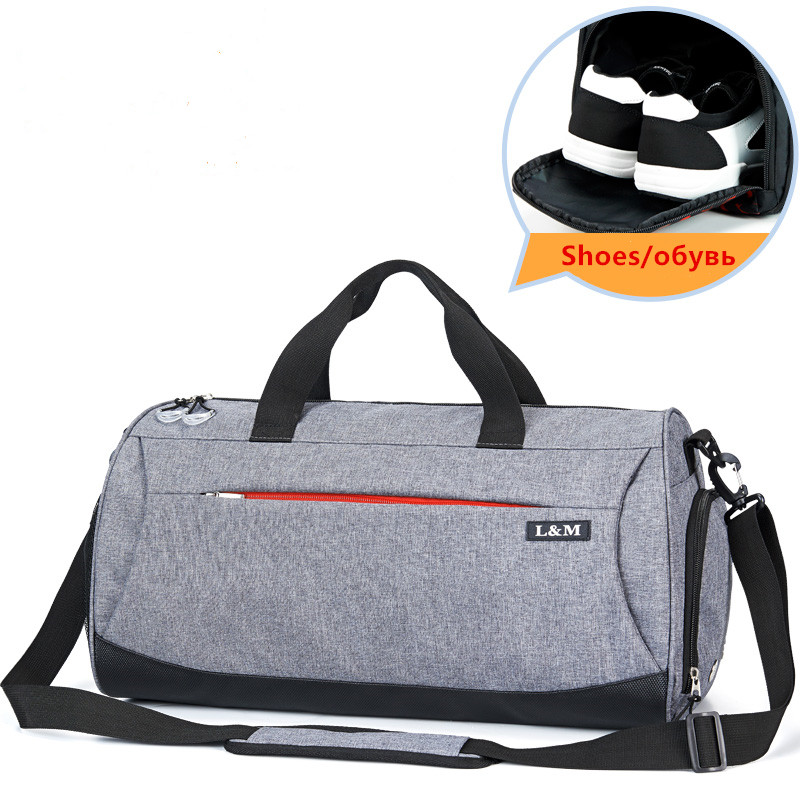 Large New Men Gym Sport Bag for Women Fitness Yoga Training Outdoor Travel Handbags With Shoes Storage sac de sport homme