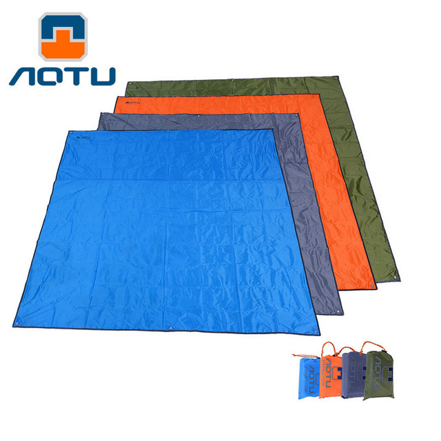 2017 New Tent Tarp Waterproof Oxford Cloth High Quality 210D Oxford Material Camping Picnic Beach Tent Roof Tarp