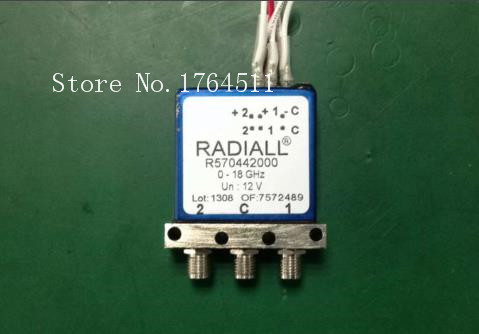 [BELLA] RADIALL R570442000 0-18GHZ SPDT RF Coaxial - 12V SMA