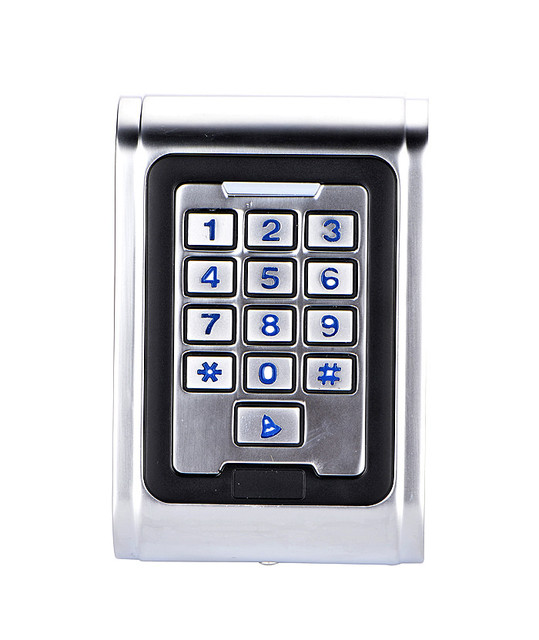 RFID Proximity 12.5Mhz Smart ID Card Door Entry Lock IP68 Completely  Waterproof Standalone Access Control