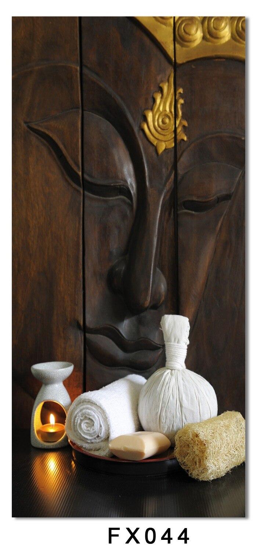 Antyczne płótno dekoracje ścienne zapalić, budda malarstwo plakat - Wystrój domu - Zdjęcie 3