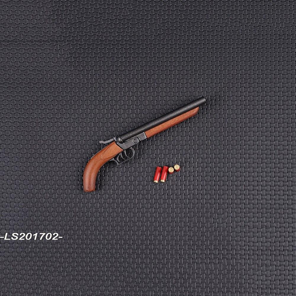 """X1 1:6 Figure Accessory Black Revolver Gun Model For 12/"""" Male Female Figure Doll"""
