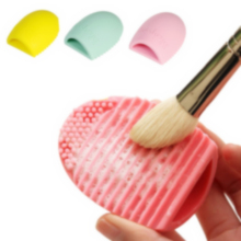 Scrubber pop egg washing glove clean foundation cleaning make cosmetic brush