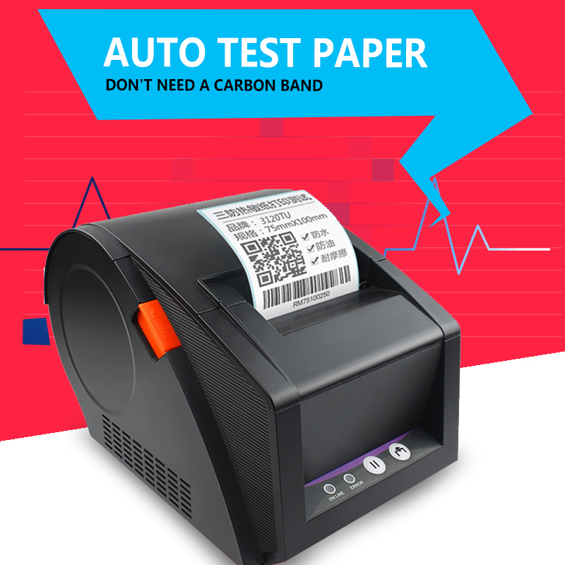 GP3120TU label barcode printer thermal label printer 20mm to 82mm thermal barcode printer clothing label printer стоимость