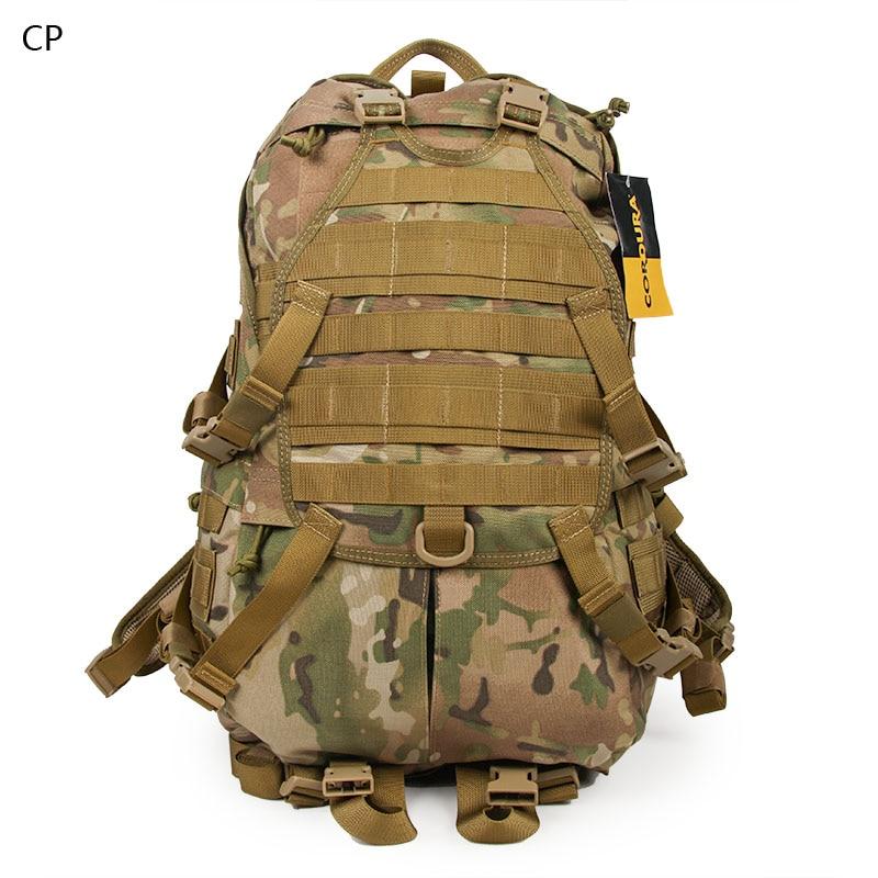 42L Beg Tentera Jualan Panas MOLLE Assault Bag 1000D Cordura Kalis Air Nylon Beg Taktikal PP5-0010