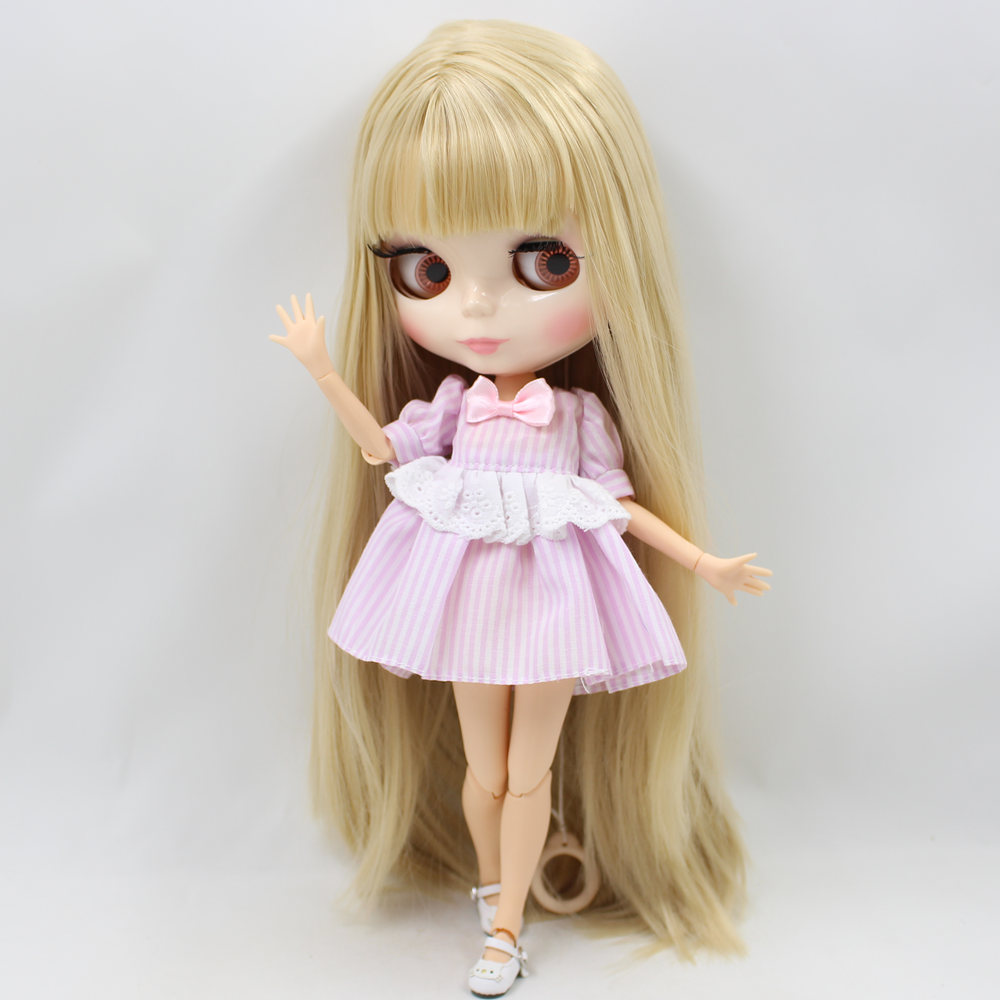 ICY Nude Factory Blyth Doll Series No BL538 Blonde hair white skin Joint body Neo BJD
