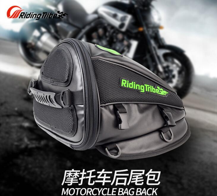 g-xz-017 motorcycle Fuel Tank Rear Knight package side side motorcycle ultra-fiber leather multifunction Bag