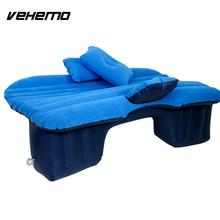 Vehemo Car Seat Air Bed Air Mattress Bed Auto Inflation Bed Universal Portable Inflatable