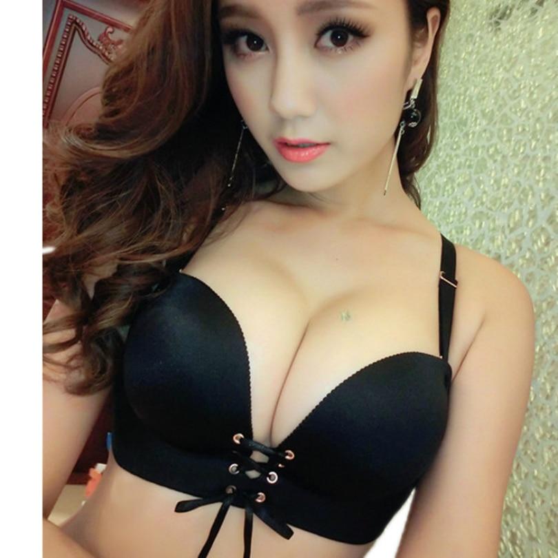 Super Push Up Bra Lace Sexy Lady Women Push Up Bra Sexy -3502