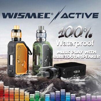 [במלאי] מקורי Wismec פעיל עם Amor NS בתוספת טנק 4.5 ml adopte bluebooth עמיד למים mod תיבת אלקטרוני סיגריות vape ערכת