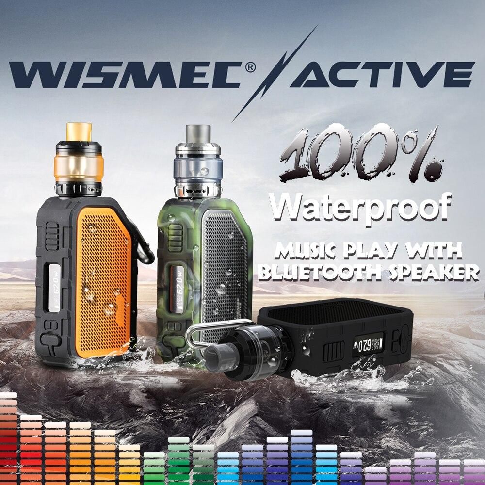 [AUF LAGER] Original Wismec Aktive mit Amor NS Plus Tank 4,5 ml adopte bluebooth wasserdichte mod box Elektronische zigarette vape kit