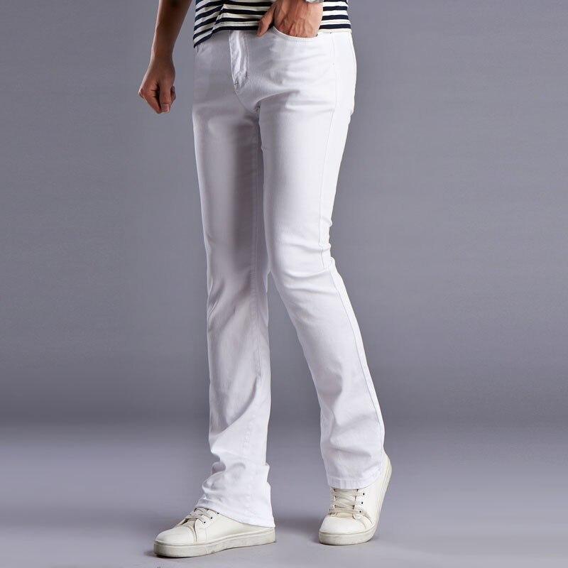 kişilərin bahar yay alovlandırılmış jeans yüksək keyfiyyətli - Kişi geyimi - Fotoqrafiya 4