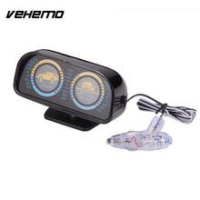 Vehemo подсветка 12 в автомобильный Инклинометр автоматический компас инклинометра креативный уклон измеритель уровня уклон автомобильный инклинометр