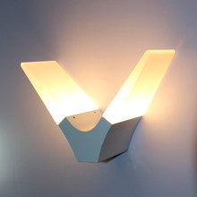 Indoor Decorative Alumium Acrylic Wall Light 6w Apply For Wall Corridor,bedroom,living Room Warm White,cool White(China)