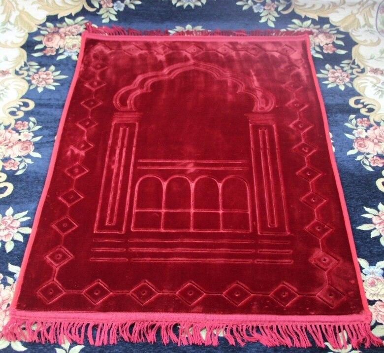 Большое плотное мягкое Фланелевое Молитвенное одеяло MashaAllah, дорожная, Исламская мусульманская молитва, коврик/ковер Salat Musallah 80*125 см