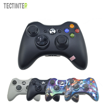 Controlador sem fio gamepad para xbox 360 mando controle joystick para xbox360 controle fino computador joypad