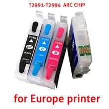 T2991 29XL T2994 заправляемые чернильные картриджи для принтеров Epson XP245 XP435 XP445 xp-245 XP-235 XP-332 XP-247 с ARC чипы 2991 картридж