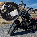 5-3/4 5.75 Pulgadas Daymaker Proyector LED Faro para Harley Davidson 40 W Hi/lo Viga
