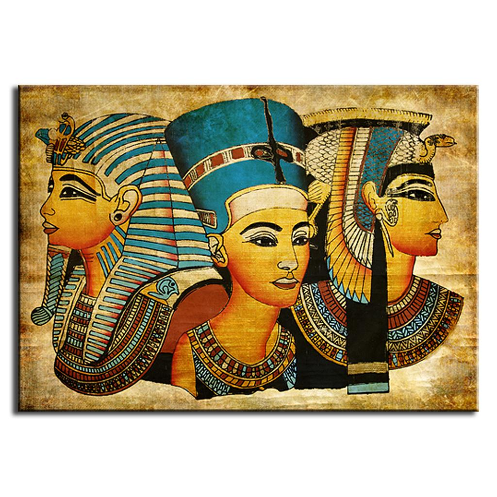 Popular egypt wall paintings buy cheap egypt wall for Ancient egyptian mural paintings