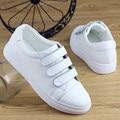 PU кожа Женщины причинные обувь Мода super star Белый Женская обувь Лианы резиновая подошва Квартиры Размер 35-40 Zapatos mujer PX19