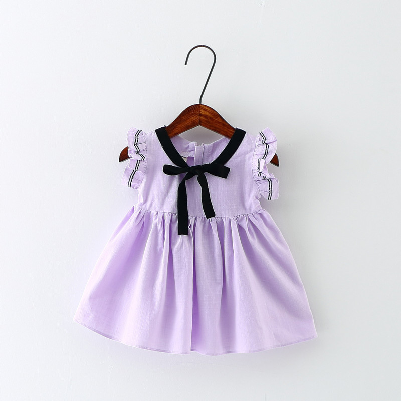 Summer Baby Dress Baby Girl Clothes Cotton Newborn Baby Clothes Roupas Bebe Infant Jumpsuits For Beach Birthday Party