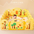 Baby Safety Play Yard Children Play Fence Playpens Forest animals Fence Indoor Baby Kids Activity Gear Environmental