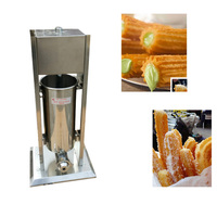 10L Manual Spain Churros Machine Fried Bread Deep Fried Dough Sticks Churros Machine