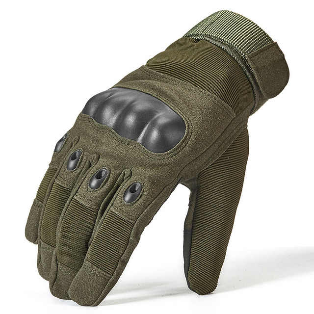 Thermal Full Finger Tactical Gloves Men SWAT Special Forces Combat Military Glove Paintball Airsoft Army Mittens