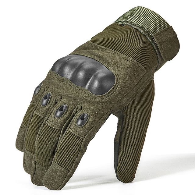 Thermische Volle Finger Taktische Handschuhe Männer SWAT Special Forces Combat Military Handschuh <font><b>Paintball</b></font> Airsoft Armee Fäustlinge image