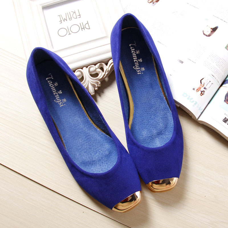 2018 Women Fashion Flats Shoes Square Toe Leather Shoes Women Loafers Woman Ballet Flats Shoes Girls Student Cute Shoe